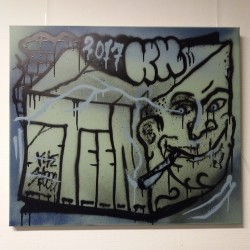KBTR X Steen canvas (Blockhead) 1x1